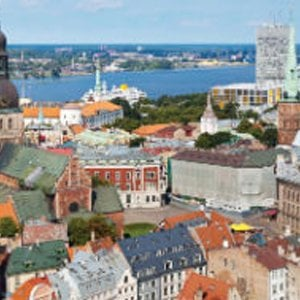 Latvia: connecting high density city populations