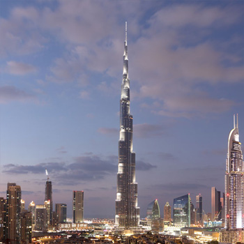 Le Burj Khalifa : La sécurité jusqu'au ciel