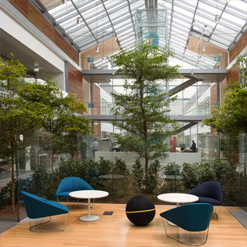 Découvre le nouveau siège « smart working » de Prysmian