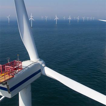 Pionnier des éoliennes maritimes